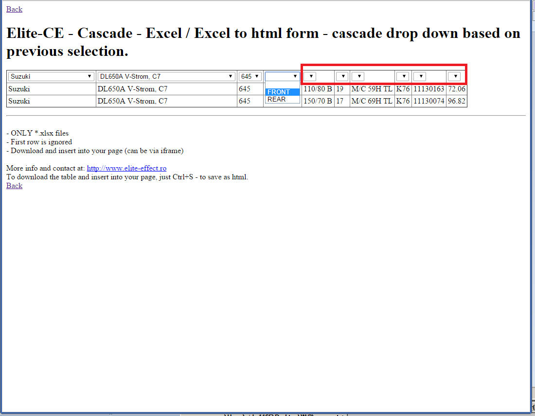 cascade drop down based on previous selection, joomla export menus and content, move joomla site to new server