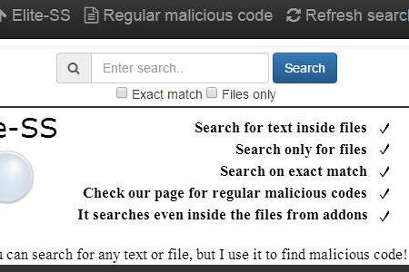 server search, move joomla site to new server