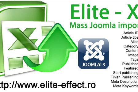 joomla import export excel