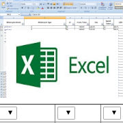 excel to html, drop down based on previous selection